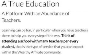 Wealthy Affiliate Community Review
